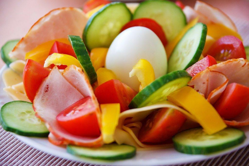 פלטה של ירקות